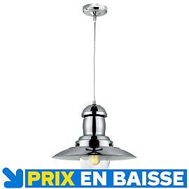 Suspension  Pêcheur H 34 60 W Chromé