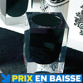 accessoire de salle de bains ice noir castorama. Black Bedroom Furniture Sets. Home Design Ideas
