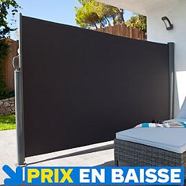 brise vue r tractable liso l 3 x h 1 60 m castorama. Black Bedroom Furniture Sets. Home Design Ideas