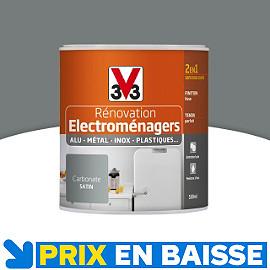 Peinture renovation electrom nager carbonate 0 5l v33 castorama - Vernis phosphorescent v33 ...