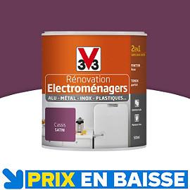 Peinture renovation electrom nager cassis 0 5l v33 castorama - Vernis phosphorescent v33 ...