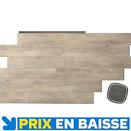 lames pvc senso lock plus kola 18 x 105 cm castorama. Black Bedroom Furniture Sets. Home Design Ideas