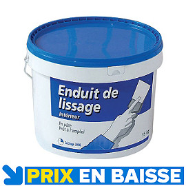 Enduit de lissage p te 15 kg castorama - Preparation enduit de lissage ...