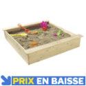 Bac à sable carré 118 x 118 cm