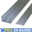 Rails premium laqué gris 360 cm