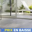 Carrelage terrasse taupe 30 x 60 cm Oikos