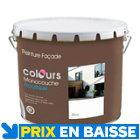 Peinture façade acrylique blanc 10L