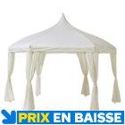 Tonnelle Aix blanche 3,5 x 4m