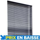 Store vénitien aluminium Gris H.150 cm