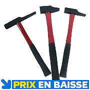 Lot de 3 marteaux MAC ALLISTER
