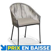 Chaise Kalix taupe