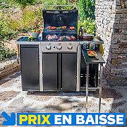 Cuisine d 39 ext rieur castorama - Barbecue exterieur castorama ...