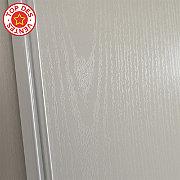 Pack 2 portes de placard coulissantes blanc veiné 250 x 180 Blizz