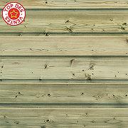 Clin pour bardage sapin vert Long.2,4 m