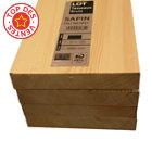 Planche en sapin brut noeux 22 x 100 mm L.2,4 m