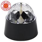 Lampe à poser Disco PVC noir H.12 cm LED 3W G9 30W