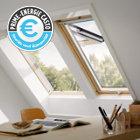 Fenêtre de toit à projection bois VELUX GPL Tout confort