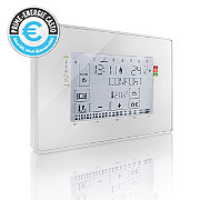Thermostat programmable filaire contact sec SOMFY