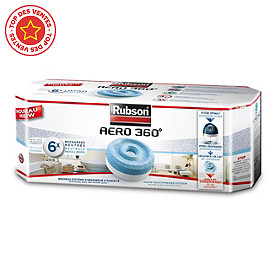 Rubson Pack de 6 recharges Aero 360
